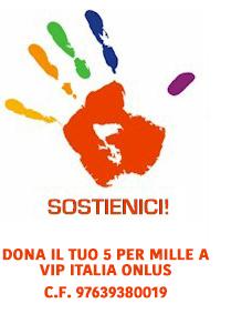 sostieni Vip Italia onlus
